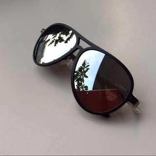 全新 日本購入 水銀鍍膜 偏光鏡片 復古雷朋 中性款太陽眼鏡