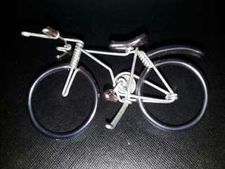 Hand-made bicycle design decorative display