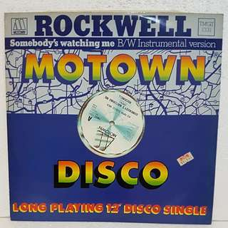Reserved: Rockwell - Somebody's Watching Me Vinyl Record
