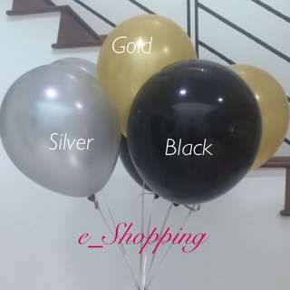 "Imported 12"" Metallic Balloon"
