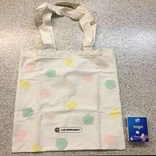 LE CREUSET cotton bag 布袋
