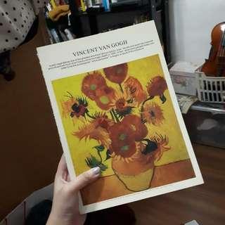 Vincent Van Gogh Drawing Book