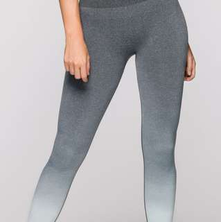 Lorna Jane seamless tights - size xs