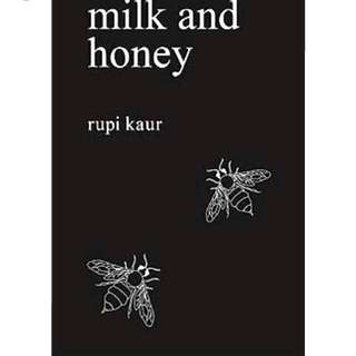 milk and honey by Rupi Kaur (Imported English Book)