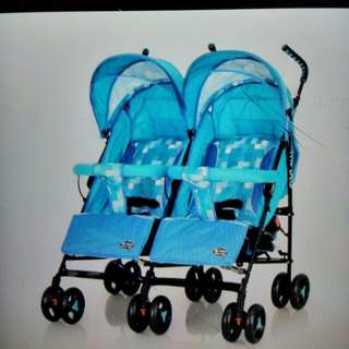Stroller twin baby