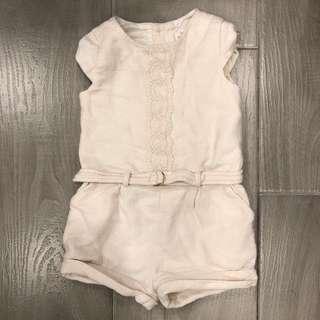 Zara jumpsuit with belt