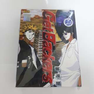 Get Backers DVD | Chapter 1 - 49 (Complete Series)