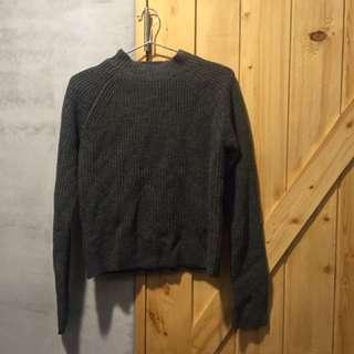 毛衣 半領