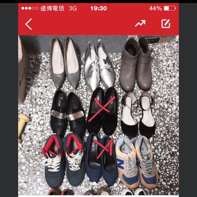 尺寸24 跟鞋 包鞋 靴子 增高