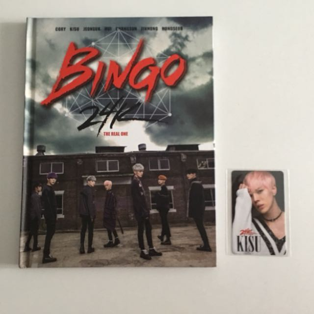 🎲24K Bingo with Kisu Photo-Card 🎲
