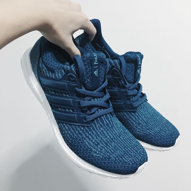 the best attitude 275b4 60e1a ... 269) UK11 Adidas x Parley Boost Ultra Parley Boost Blue, UK11 Moda  Hombre 536fb1a