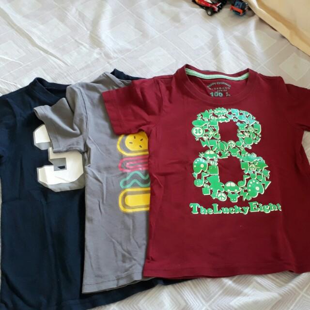 3 t-shirt 180