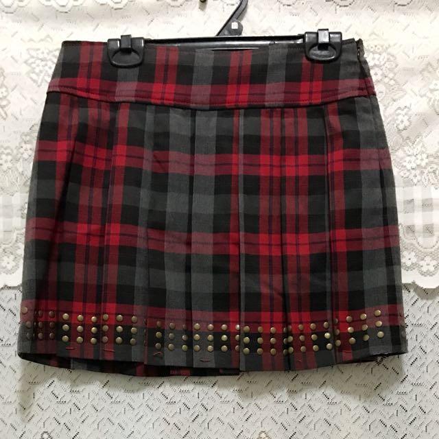 專櫃蘇格蘭裙