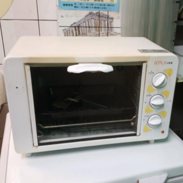 艾歐娜 烤箱 功能正常