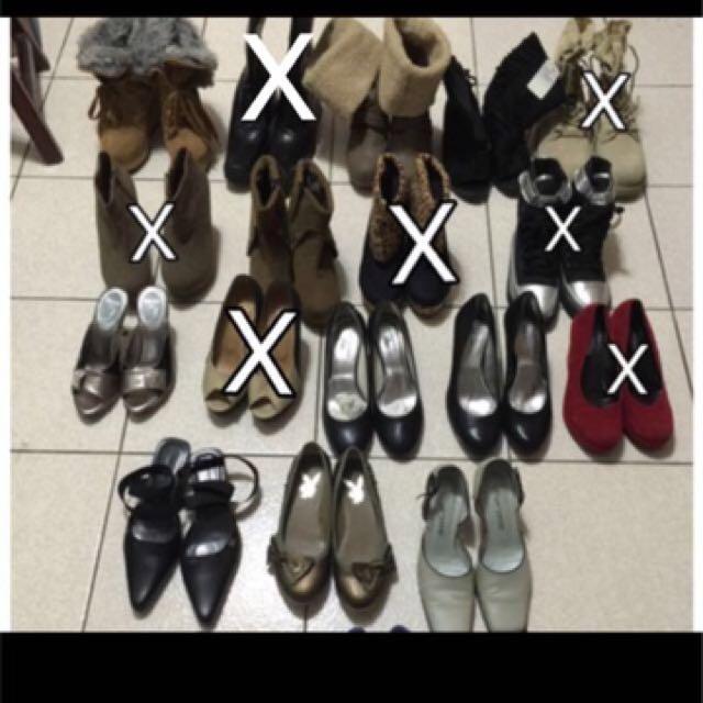 平底鞋 高跟鞋 契型鞋 靴子 涼鞋 包頭鞋