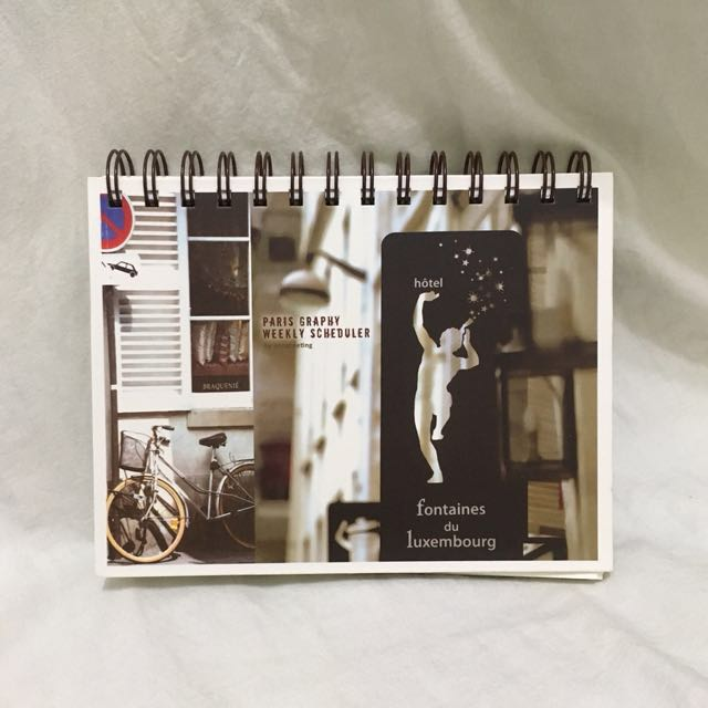🇫🇷 Lovely Paris Vintage Weekly Scheduler / Diary