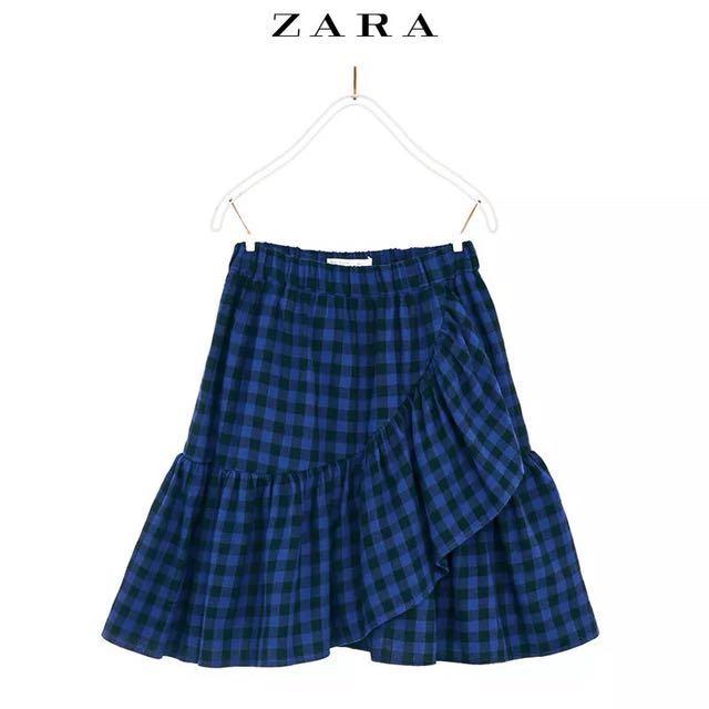 🆓 postage Zara ruffle skirt