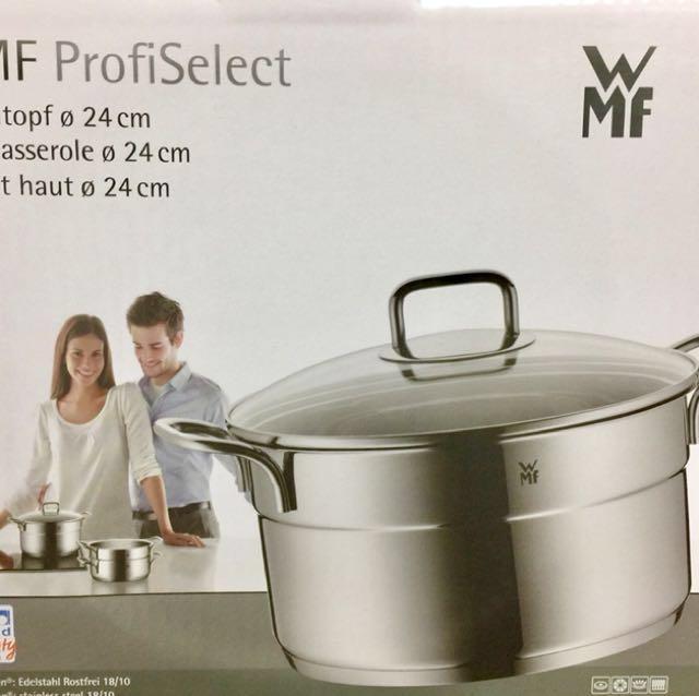 全新 全聯WMF鍋具(湯鍋+蒸盤)