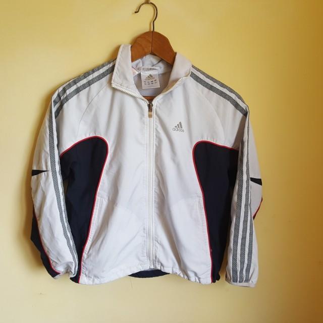 Adidas Cropped Windbreaker Jacket 6-8