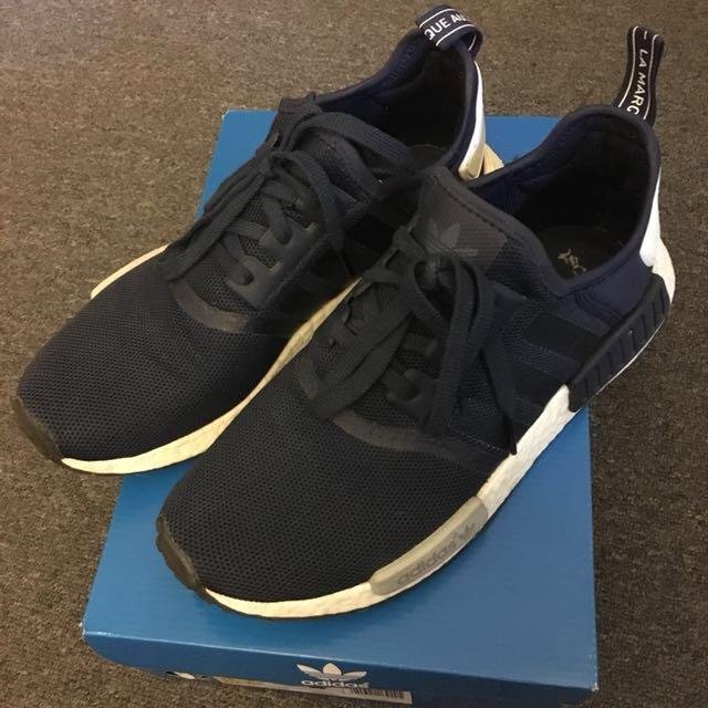 Adidas NMD Navy US9.5 8/10