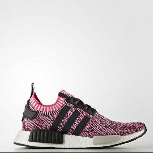 Adidas NMD R1 W Pink Rose All Sizes From 3.5 to 7.5 BB2363 Primeknit Boost