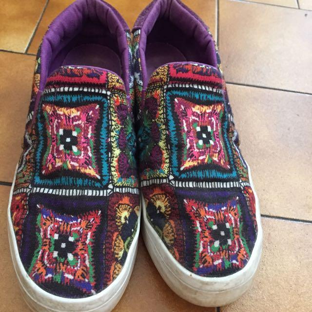 Adidas slip-on shoes