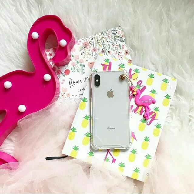 AntiCrack + Flamingo Tassel