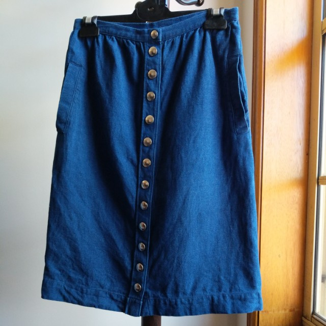 A.P.C denim skirt