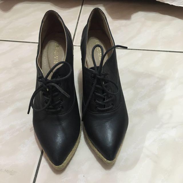 AS真皮楔型鞋~23.36