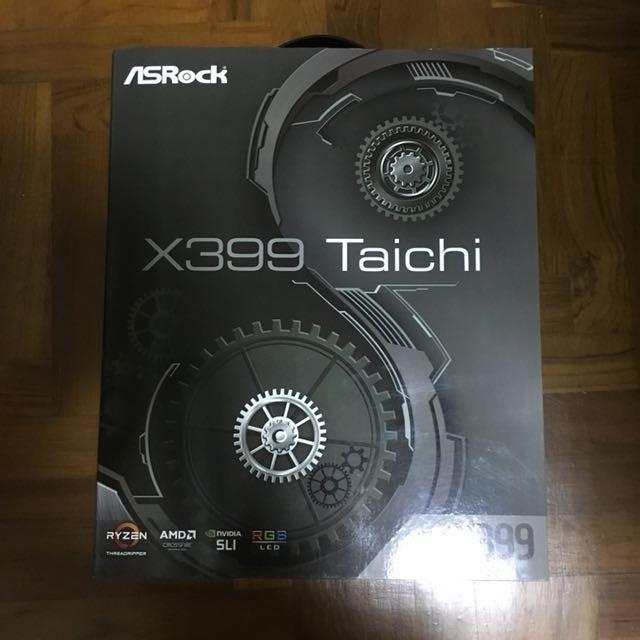 ASRock X399 Taichi Motherboard (AMD Threadripper