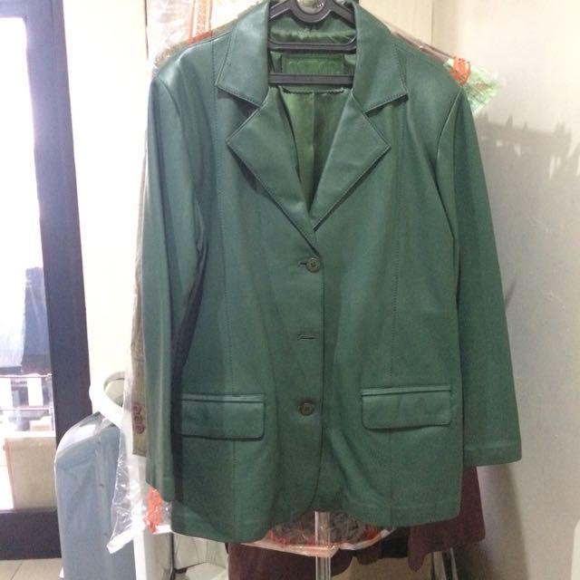 Astiga Green Winter Coat