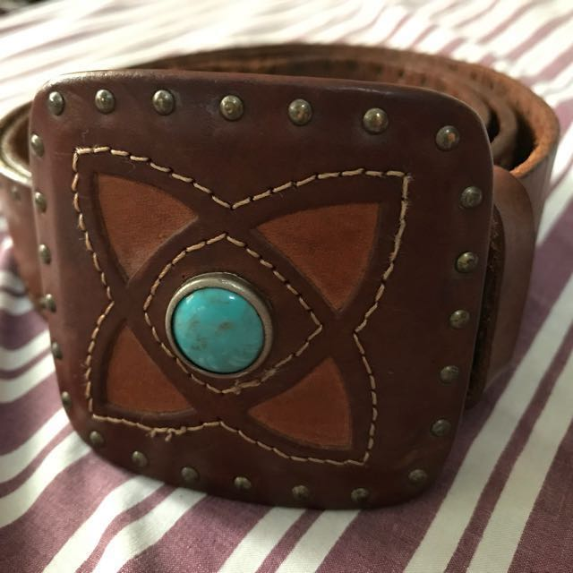 Authentic Guess Leather Belt