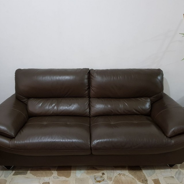 Authentic Leather Sofa 3+2