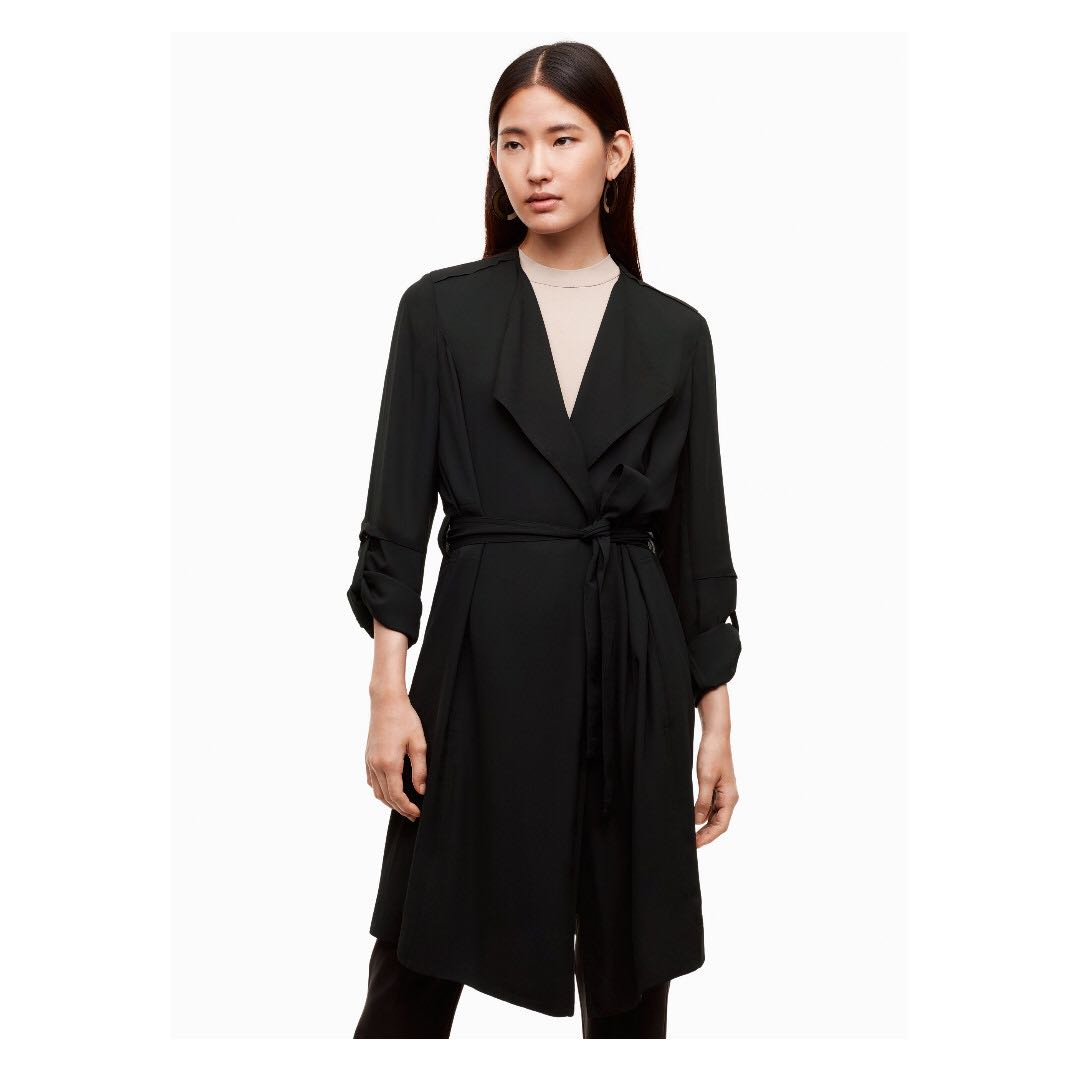 Babaton quincey jacket / XS / NWT / BLACK ARITZIA CURRENT STOCK
