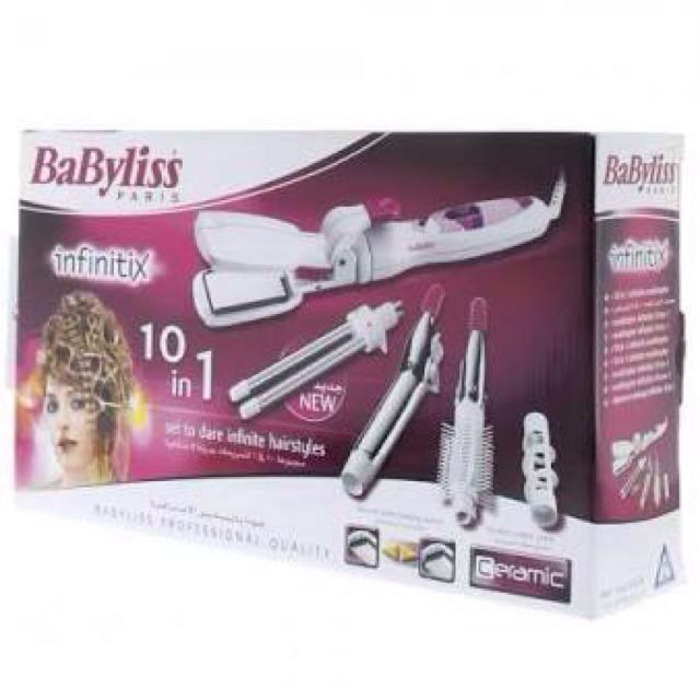 Babyliss 10 In 1 Infinitix Multi Styler Health Beauty Hair Care On Carousell