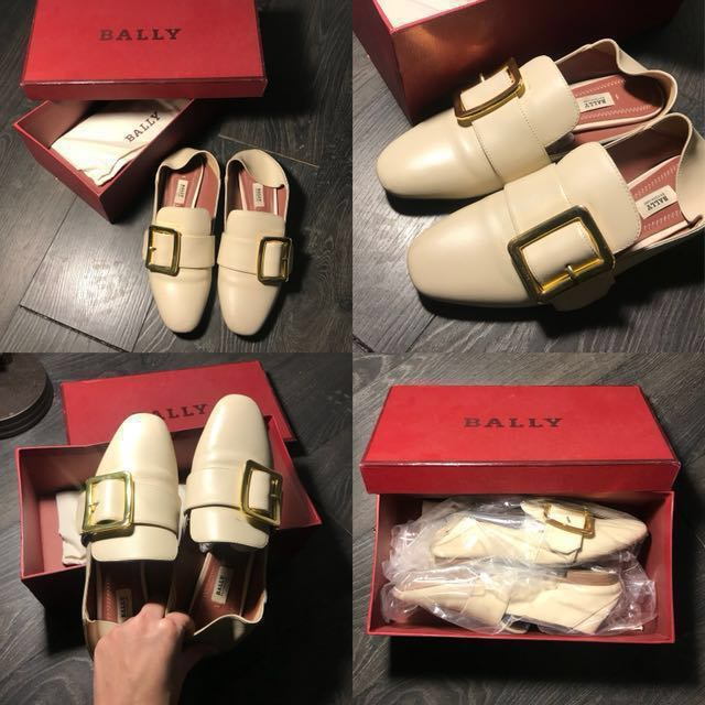 On Bally Loafersflats Leather Women's Fashion 'janelle' Shoes nTTwFYRrq