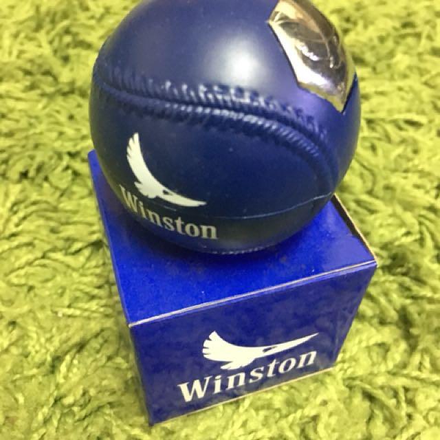 Baseball shape lighter ( Winston ) blue
