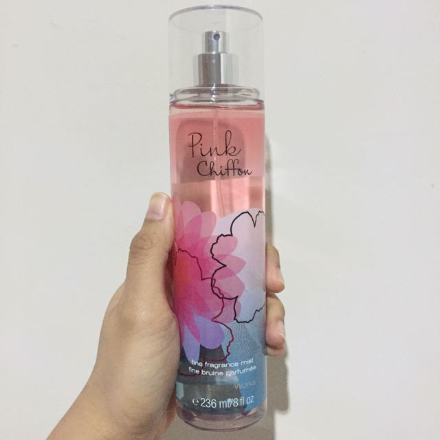 Bath & Body Works Pink Chiffon Fine Fragrance Mist