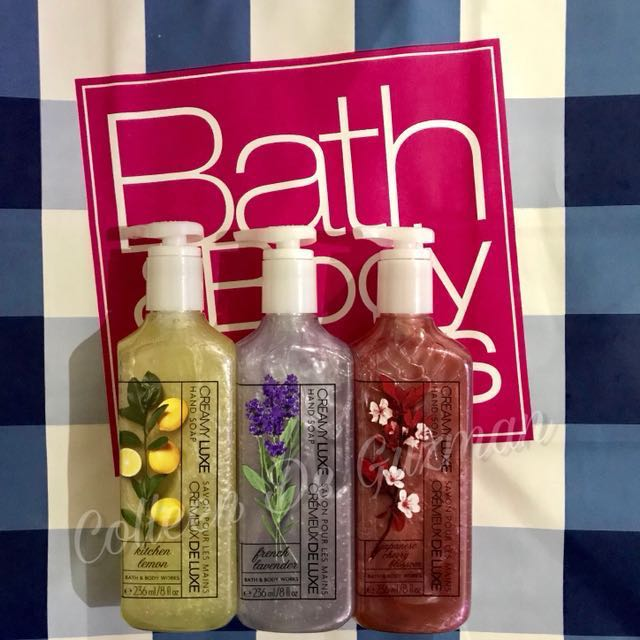 Bath and Body Works Creamy Luxe Hand Soap (Authentic)