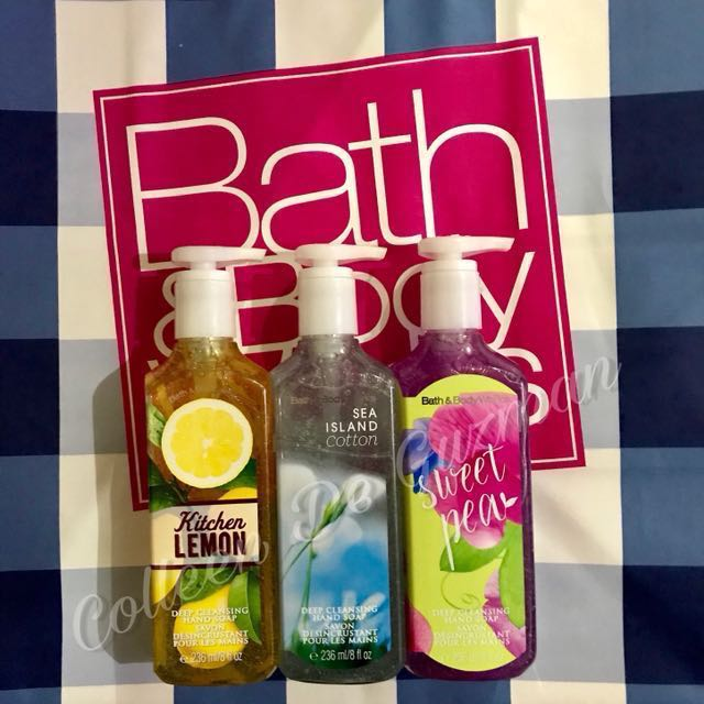 Bath and Body Works Deep Cleansing Hand Soap (Authentic)