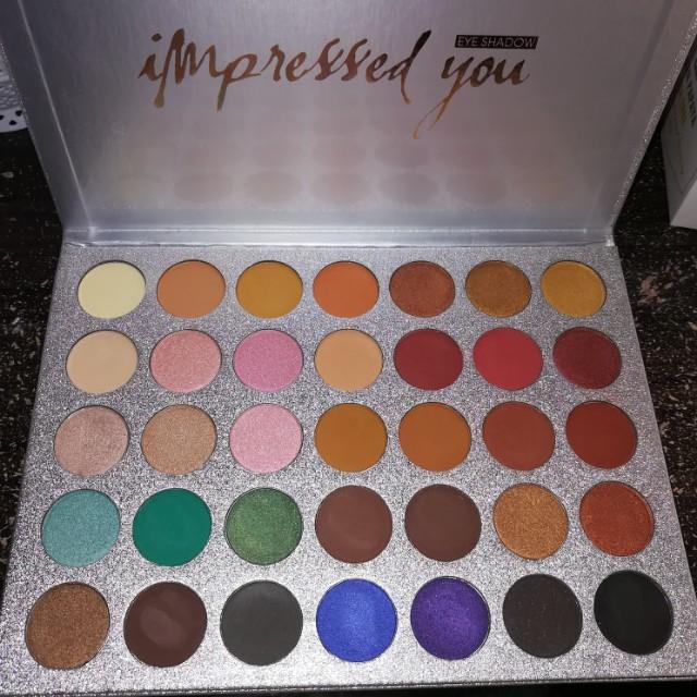 Beauty Glazed 35 Color Eyeshadow Palette (pre order)