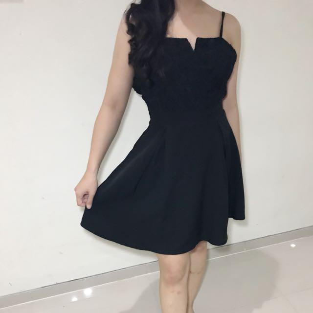 black floral nyla dress