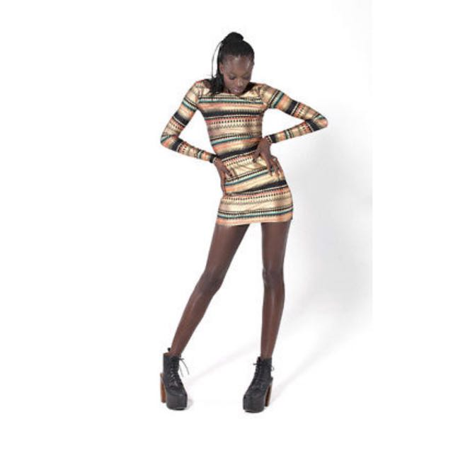 Black Milk Nairobi Body On Dress