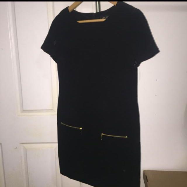 Black New Look Shift Dress