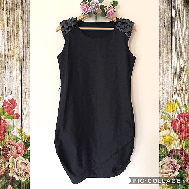 Black Origami Dress