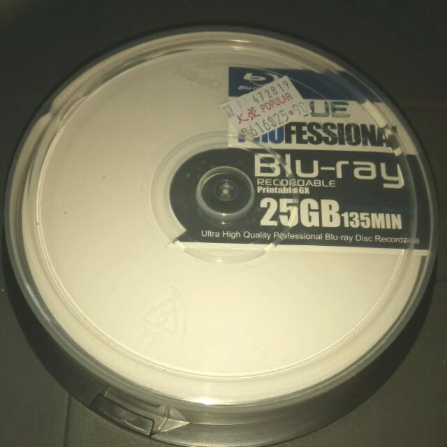 picture regarding Printable Blu Ray Discs identified as Blu - Ray Printable Discs x6