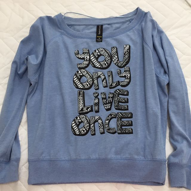 BN Tumblr Pullover Factories you only live once yolo