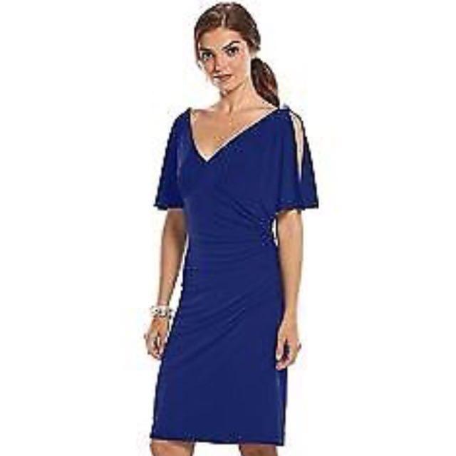 BNWT Chaps blue dress