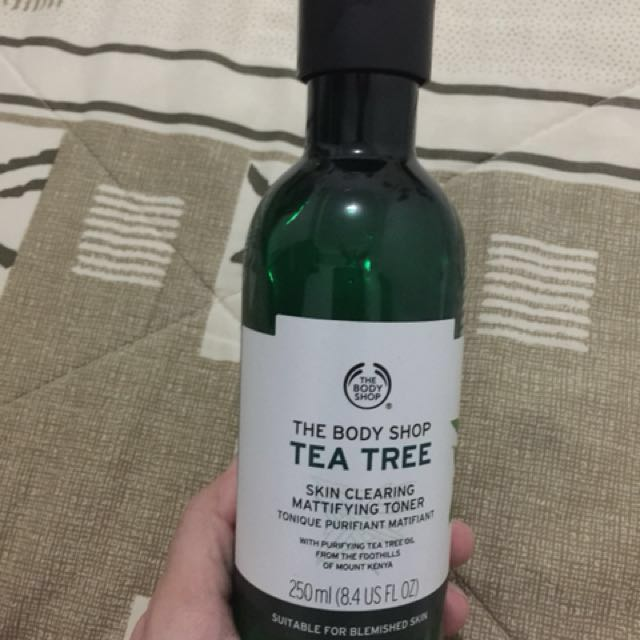 Body shop skin cleaning