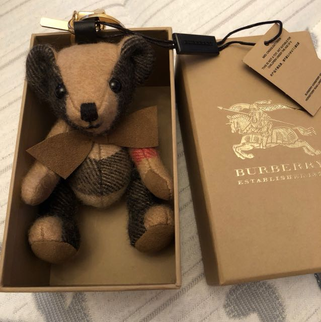 Brand new Burberry teddy key chain